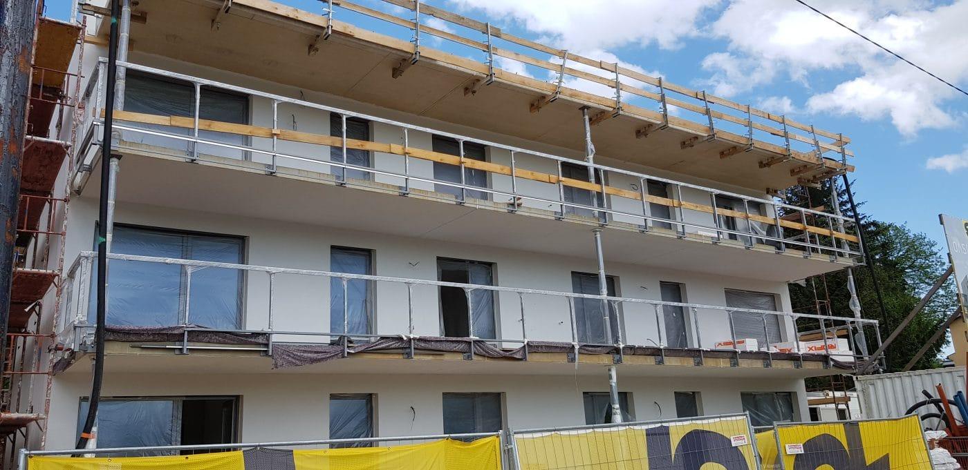 Entstehen des Bauprojekts Graz-Andritz