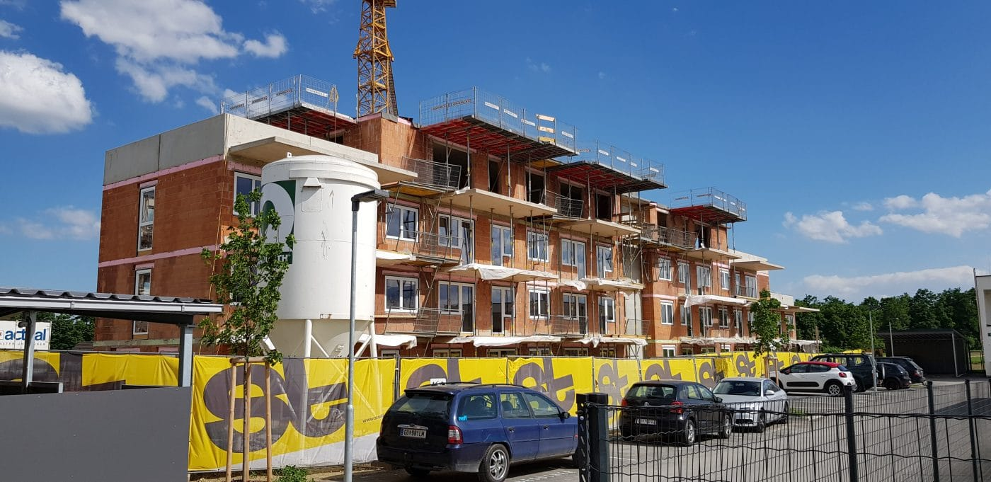 Bau von Wohnungen in Seiersberg