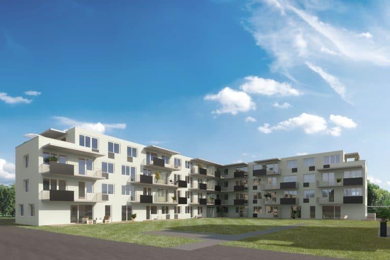 Ansicht Bauprojekt Seiersberg Haus 10