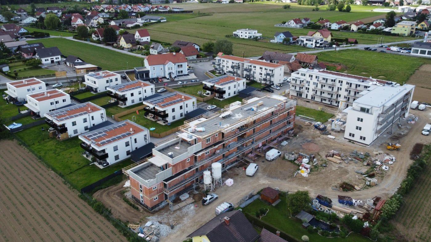 Baufortschritt Bauprojekt in Seiersberg