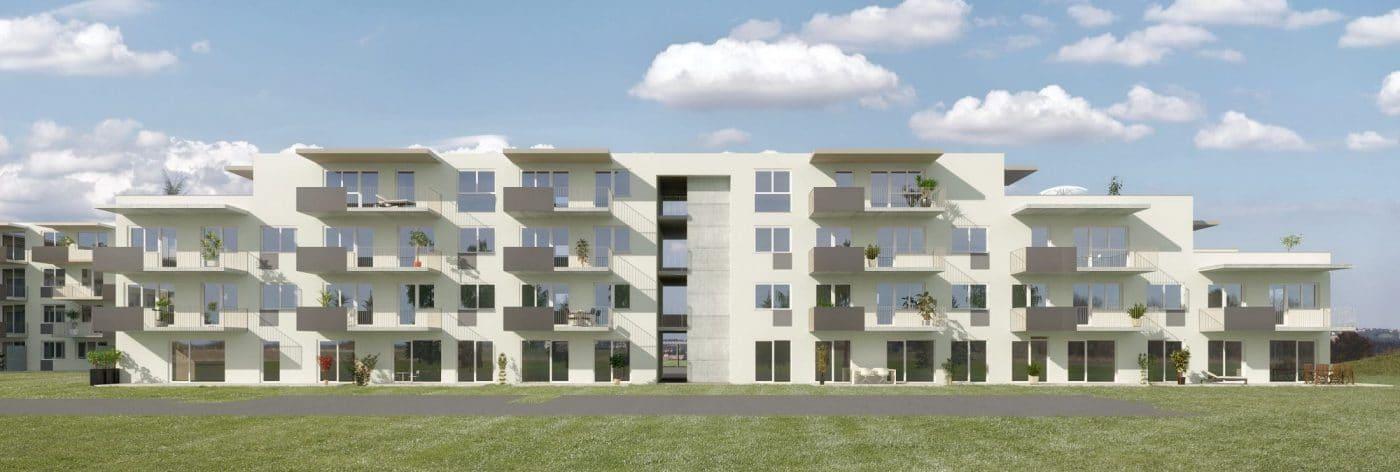 Frontansicht Bauprojekt Seiersberg