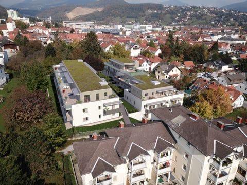Vogelperspektive Wohnprojekt Weiz