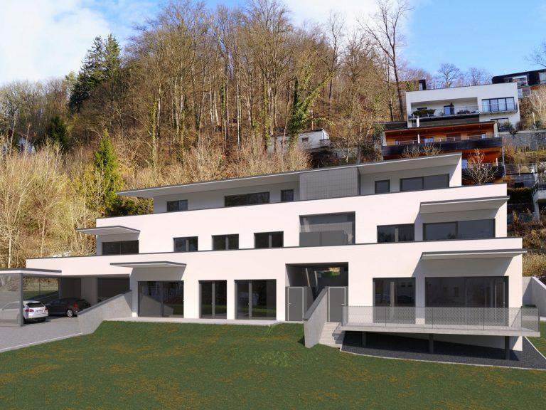 Visualisierung OASIS Josefbach, Mariatrost, Graz
