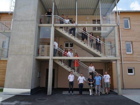 Übergabe der Wohnsiedlung in der Dittlergasse in Weiz