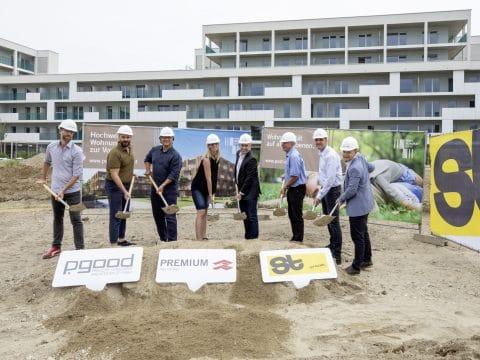 Spatenstich Bauprojekt in Graz